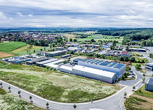 Herchenbach temporary buildings