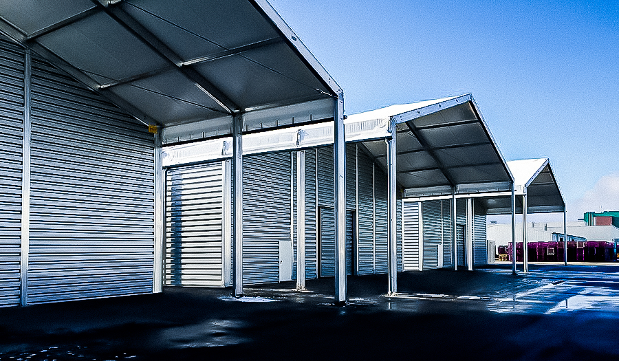 Special building canopies