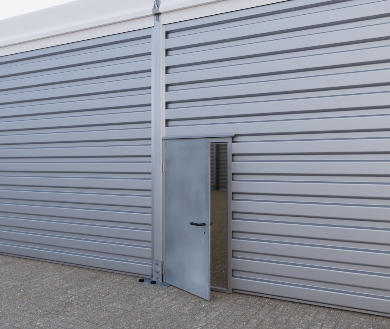 Doors And Gates For Temporary Warehouses And Temporary